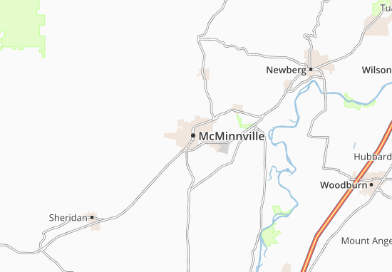 McMinnville Map