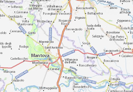 Castelbelforte Map