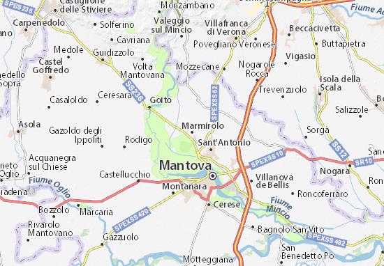 Carte-Plan Marmirolo