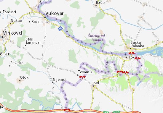 Carte Croatie Ilok.Lovas Map Detailed Maps For The City Of Lovas Viamichelin