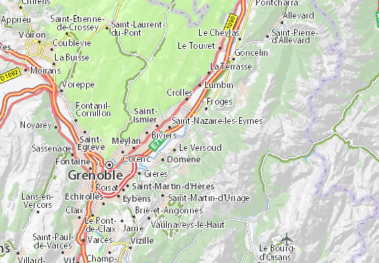 Mappe-Piantine Villard-Bonnot