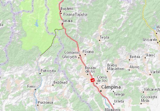 Comarnic Map