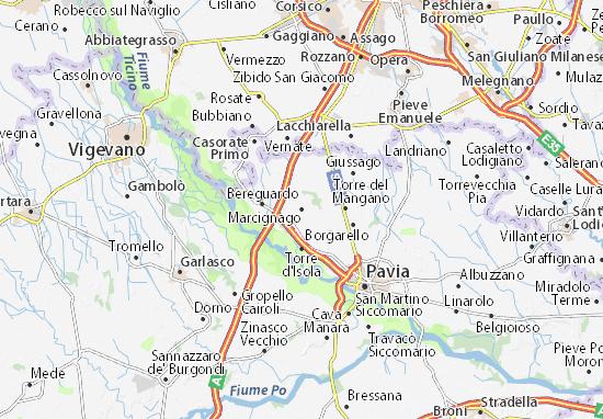 Mappe-Piantine Marcignago
