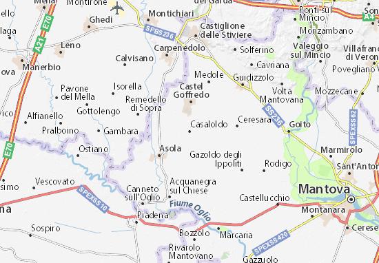 Casaloldo Map