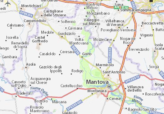 Mappe-Piantine Goito