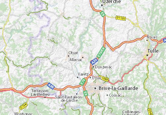 Mapa Plano Allassac