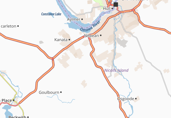 Map of Ottawa Michelin Ottawa map ViaMichelin – Ottawa Tourist Attractions Map