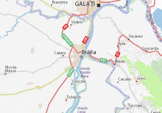 Brăila Map