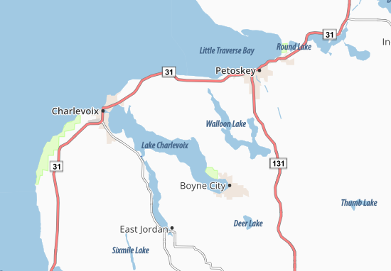 Horton Bay Map