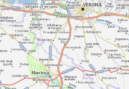 Mapas-Planos Nogarole Rocca