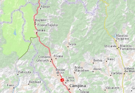 Teşila Map