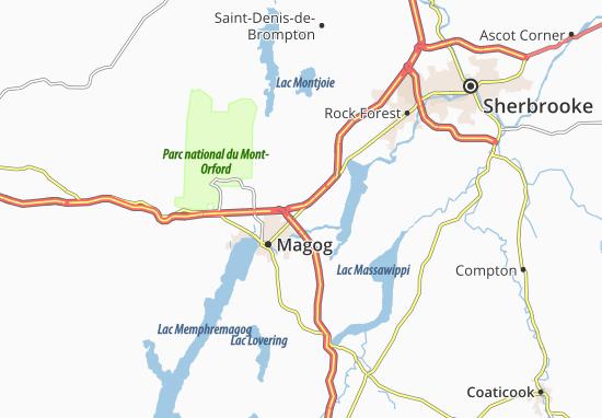 Kaart Plattegrond Omerville