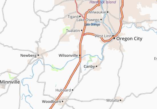 Mapas-Planos Wilsonville