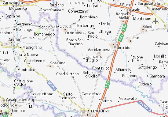 Mappe-Piantine Quinzano d'Oglio