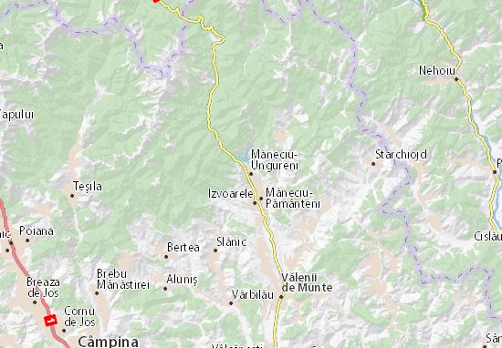 Mappe-Piantine Măneciu-Ungureni