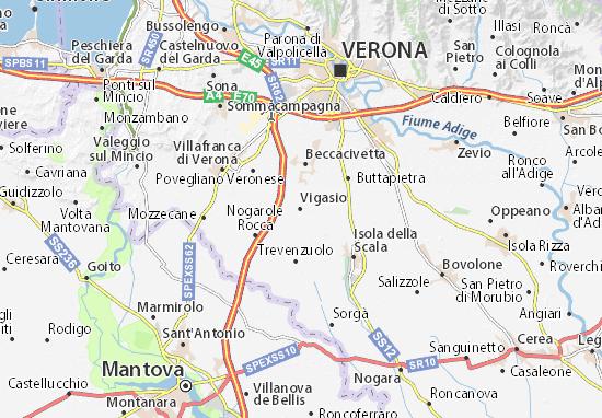 Vigasio Map