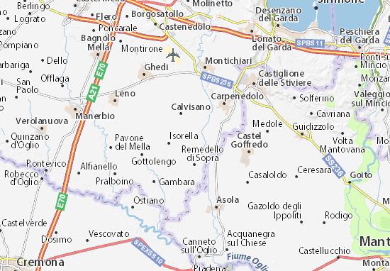 Visano Map