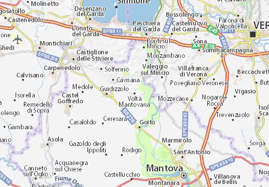 Mappe-Piantine Volta Mantovana