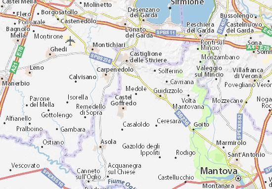 Medole Map