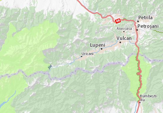 Kaart Plattegrond Uricani