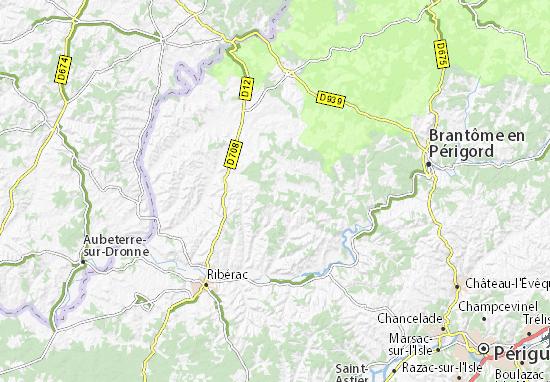 Carte-Plan Bourg-des-Maisons