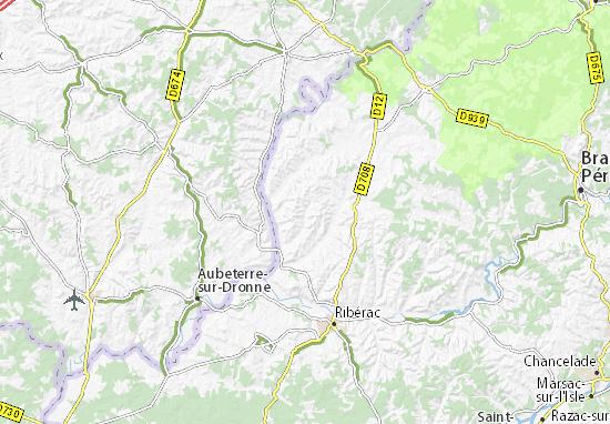 Carte-Plan Bouteilles-Saint-Sébastien
