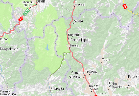 Mapas-Planos Sinaia
