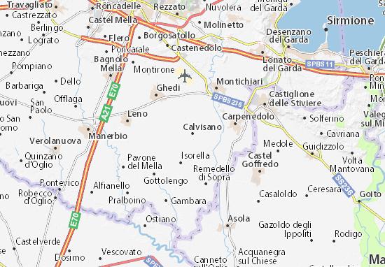 Mappe-Piantine Calvisano