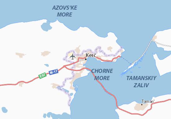 Mapas-Planos Kerč