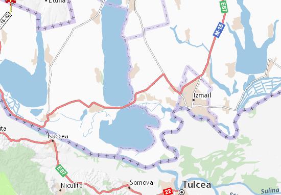 Kaart Plattegrond Nova Nekrasivka
