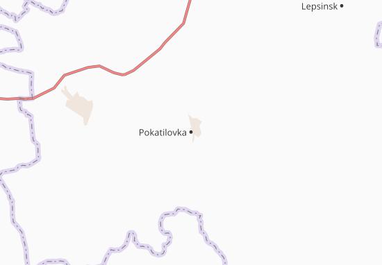 Carte-Plan Pokatilovka