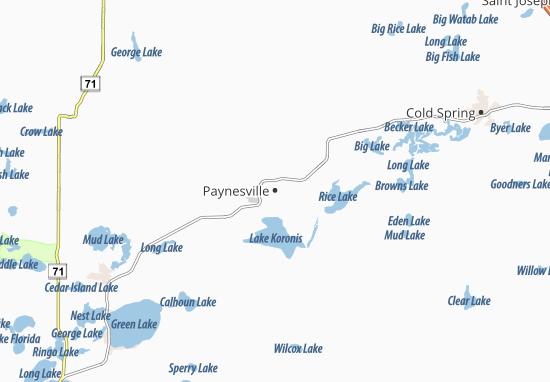 Carte-Plan Paynesville