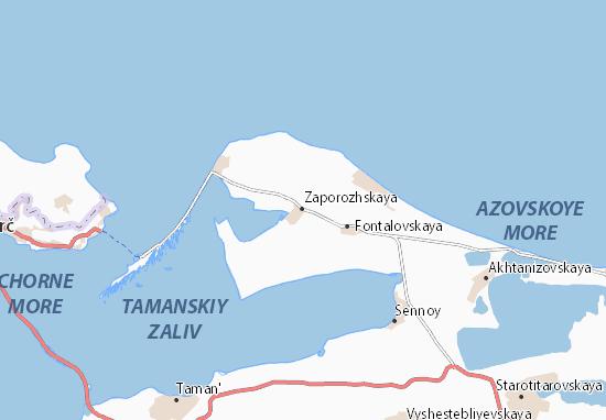 Kaart Plattegrond Zaporozhskaya