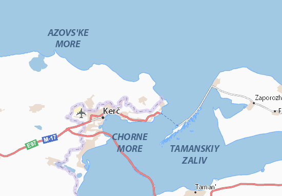 Hlazivka Map