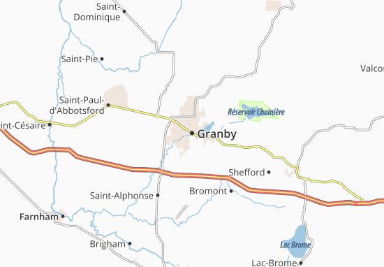 Granby Map