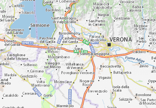 Mappe-Piantine Sommacampagna