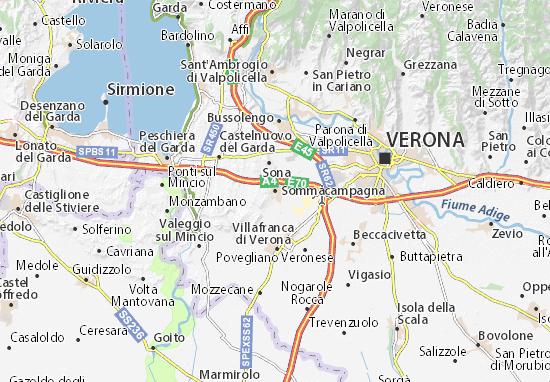 Carte-Plan Sommacampagna