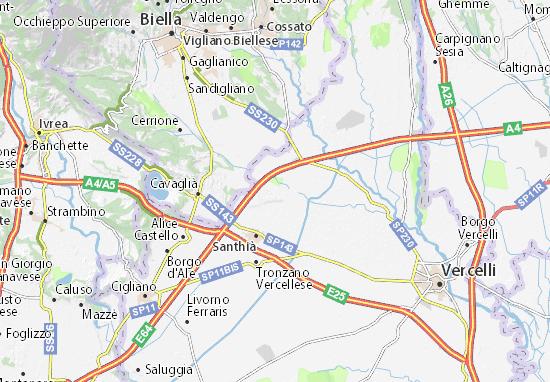 Mappe-Piantine Carisio