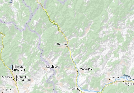 Nehoiu Map