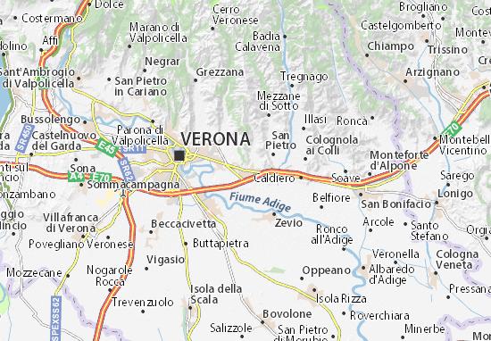 Carte-Plan San Martino Buon Albergo