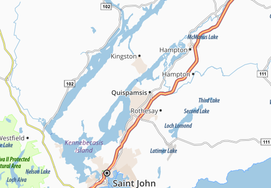 Carte-Plan Gondola point