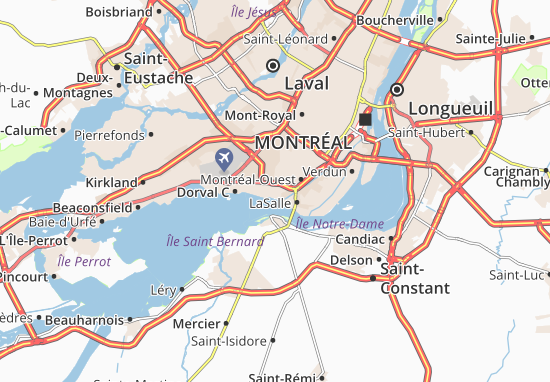 Lachine Map