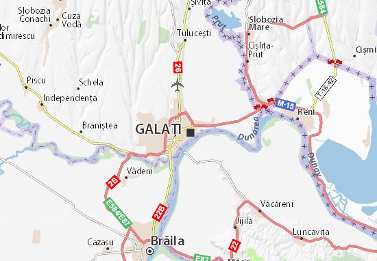 Galaţi Map