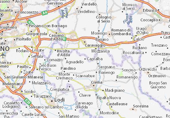 Capralba Map