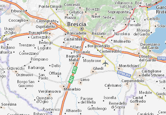 Montirone Map