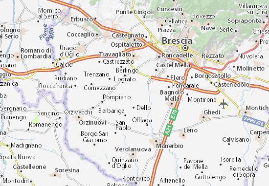 Mairano Map