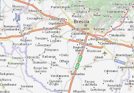 Mappe-Piantine Azzano Mella
