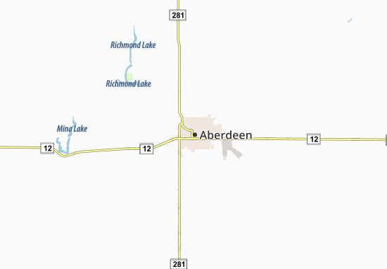Carte-Plan Aberdeen
