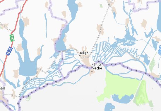 Mapas-Planos Kilija