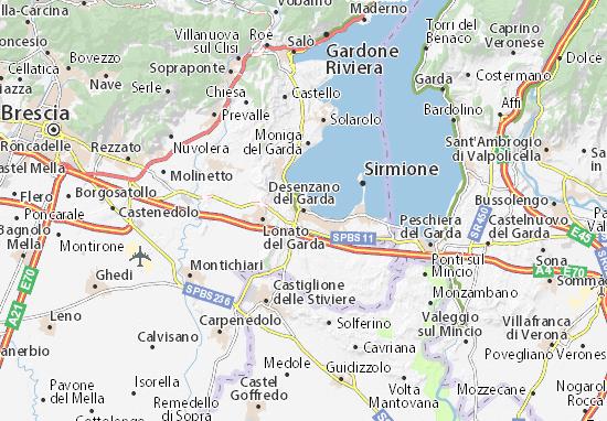 Desenzano del Garda Map Detailed maps for the city of Desenzano del